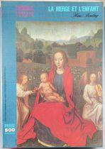 Puzzle 500 pièces - Nathan Réf 551103 - La Vierge et l\'Enfant Hans Memling Tableaux Célèbres Neuf Boite