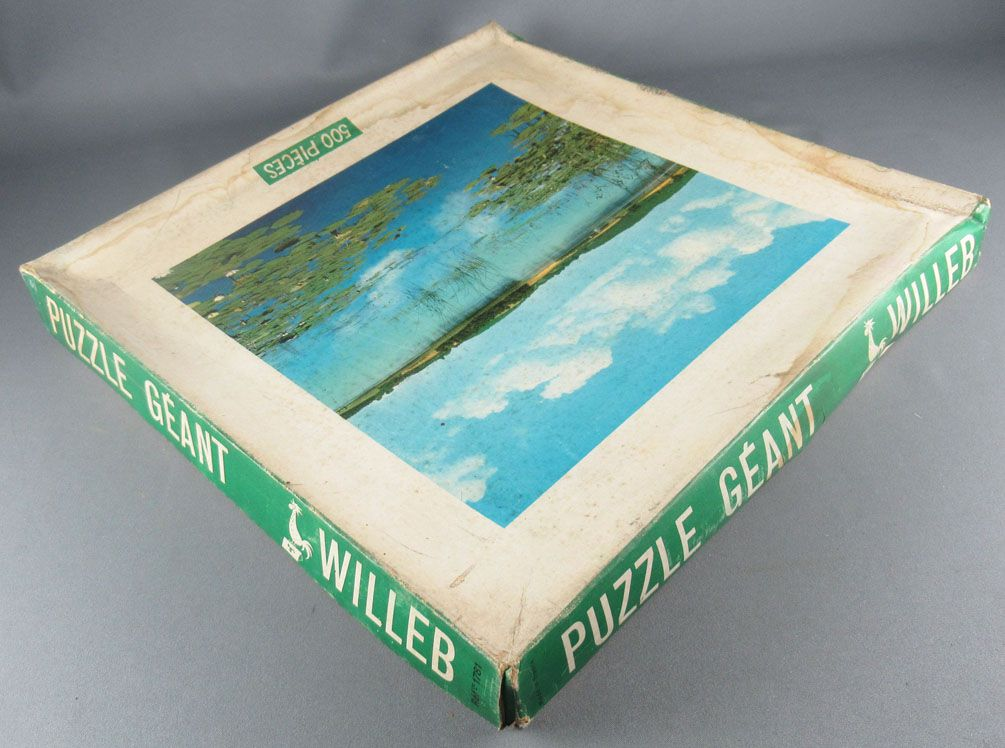 Puzzle 500 pièces - Willeb Réf 1781 - Paysage Aquatique Etang Neuf Boite