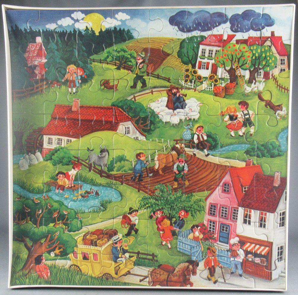 Puzzle 64 pièces - Ravensburger Réf 62358459 - Chansons Animées Neuf Boite Cellophanée