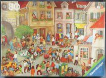 Puzzle 80 pièces - Ravensburger Réf 62358572 - Le Marché aux Puces R Mörtl Neuf Boite Cellophanée