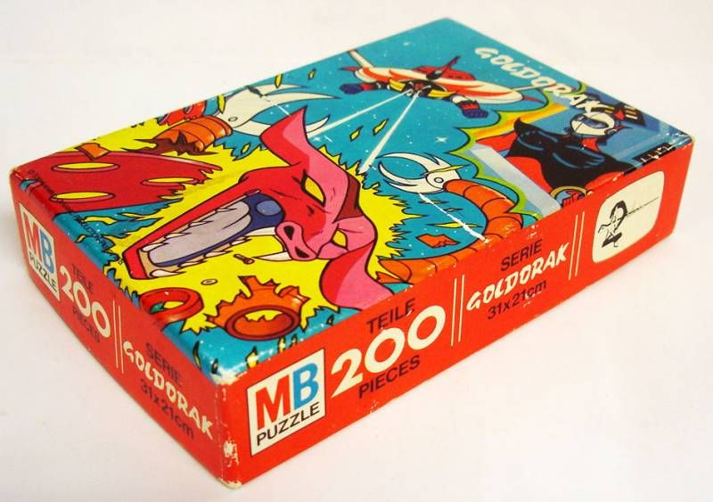 Puzzle Goldorak 200 pièces MB (ref.625347204)