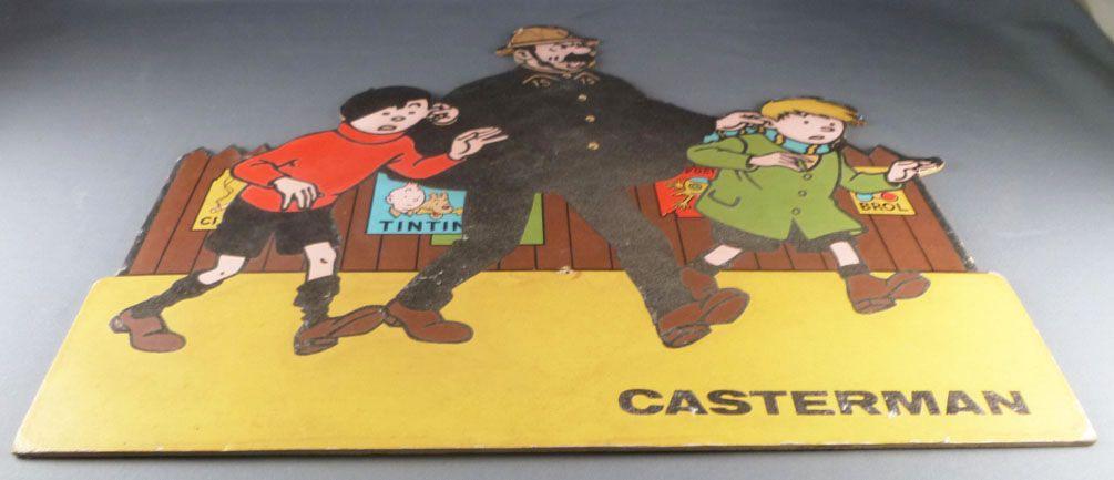 Quick & Flupke - Casterman Pos Store Advertising - Quick, Flupke & Agent n°15
