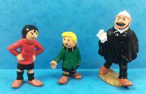 Quick & Flupke - Figurines PVC Bully - Quick, Flupke et l\'Agent n°15