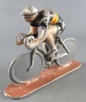 Quiralu - Cycliste Métal - Grand Rouleur Pistard Maillot Noir Belgique Tdf 1