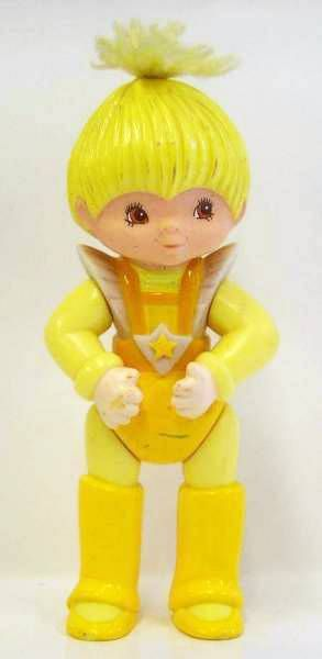 Rainbow Brite - Mattel - Canary Yellow - Poseable figure (loose)