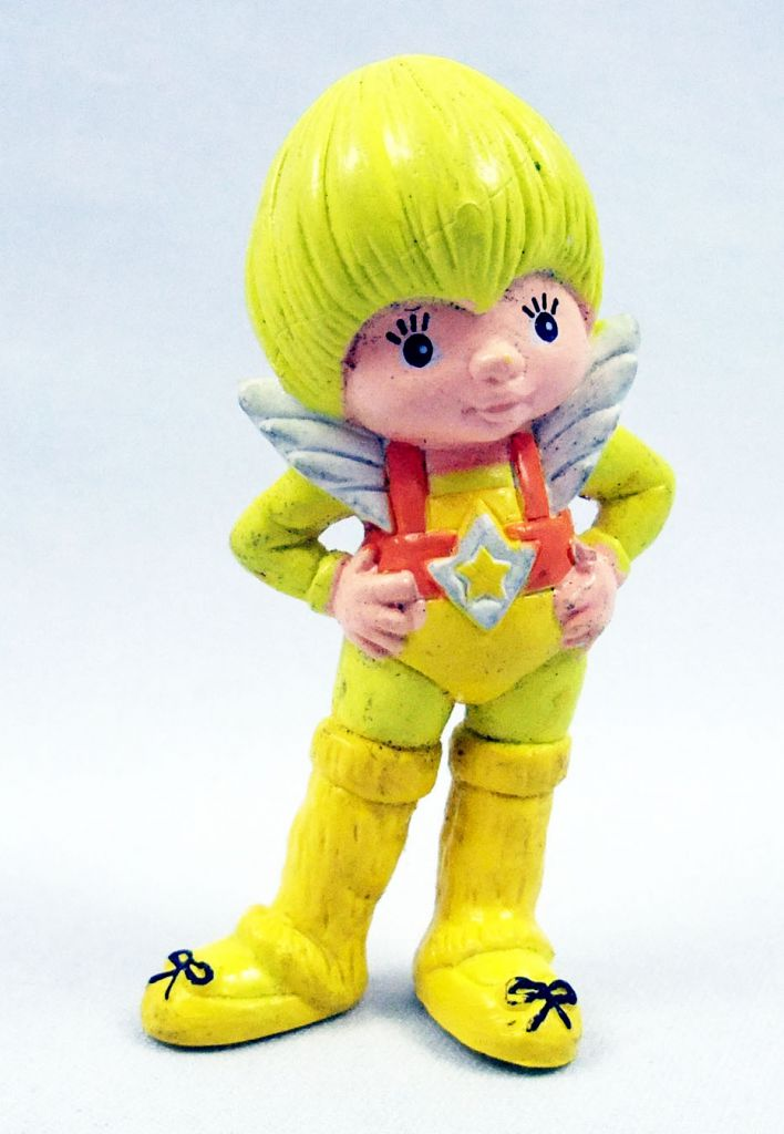Rainbow Brite - Mattel - Canary Yellow 3-D Eraser (loose)