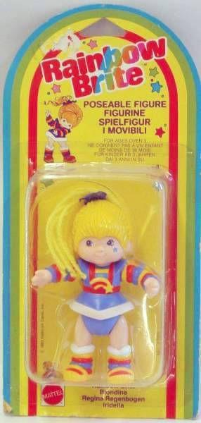 Rainbow Brite - Mattel - Rainbow Brite - Poseable figure