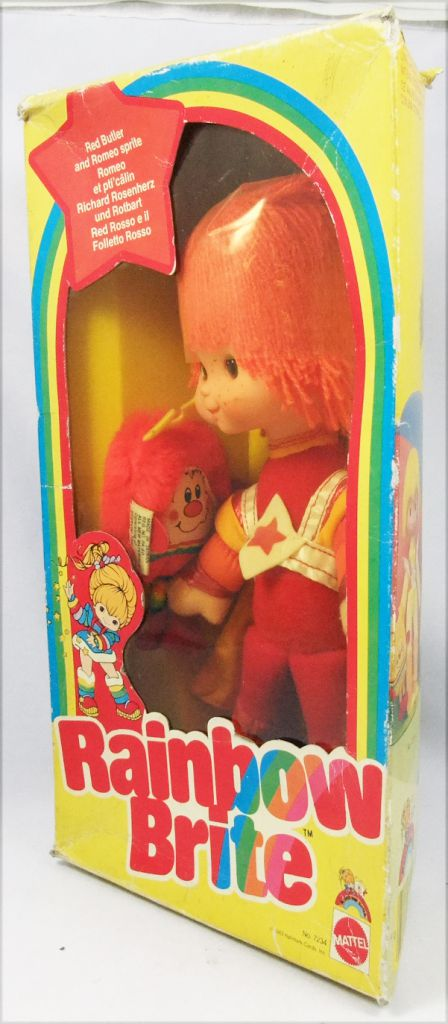 Rainbow Brite - Mattel - Red Butler & Romeo Sprite