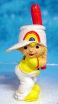 Rainbow Kids - Gelbhard avec bate de baseball - Schleich