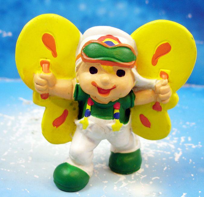 Rainbow Kids - Gruno avec aile volante - Schleich