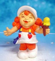 Rainbow Kids - Oranelle with ice cream - Schleich