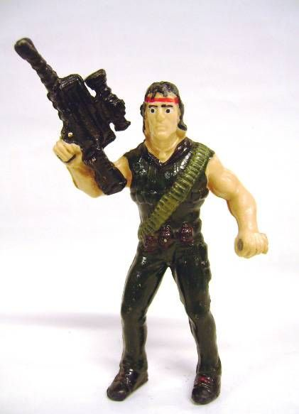 Rambo - John Rambo 3\'\'3/4 PVC figure (loose)