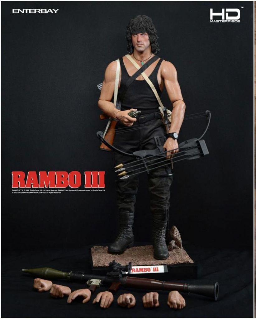 Rambo III - Enterbay HD Masterpiece 1/4 scale (16inch) - John J. Rambo