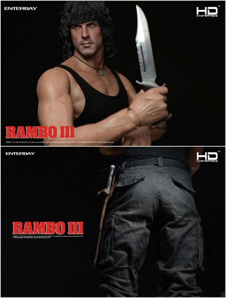 Rambo III - Enterbay HD Masterpiece 1/4 scale (45cm) - John J. Rambo