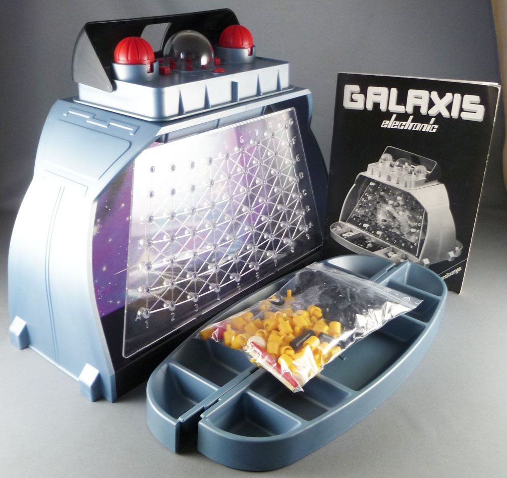 Ravensburger 1980 - Galaxis Electronic - Jeu Spatial Electronique