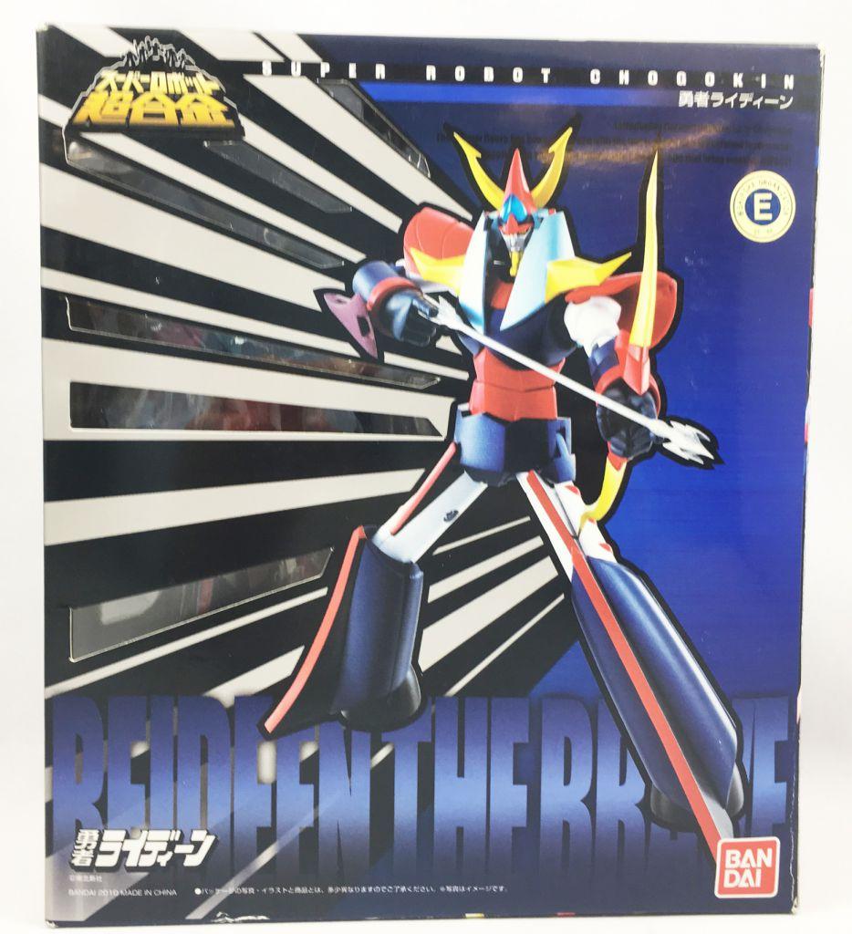 Raydeen - Bandai Super Robot Chogokin - Reideen the Brave