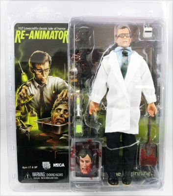 "8/"" Clothed Action Figure-Herbert West Neca-Re-Animator"