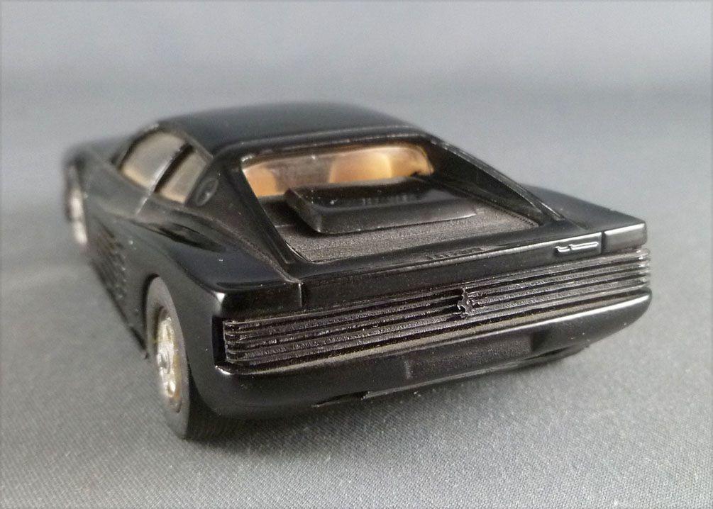 Record 1984 Black Ferrari Testarossa Resin Kit Factory Built 1:43