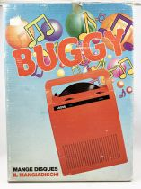 "Record Player (Mangiadischi) Mod. \""Buggy\"" (Pink) - Lansay (1980\'s)"