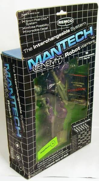 Remco - Mantech Robot Warriors - Negatech (loose avec boite)