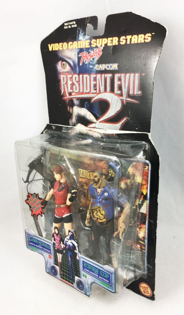 Resident Evil 2 - Toy Biz Capcom - Claire Redfield & Zombie Cop