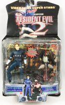 Resident Evil 2 - Toy Biz Capcom - Leon Kennedy & Licher