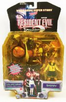 Resident Evil 2 - Toy Biz Capcom - William Birkin & Sherry
