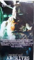 Resident Evil Archives Series 3 - Tyrant