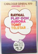 Retailer catalog Jamarex S.A. 1979 (Raynel, Play-Doh, Aurora, Tomy, Telstar)