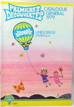 Retailer catalog Lines Bros Premières Découvertes 1979 (with The Weebles)