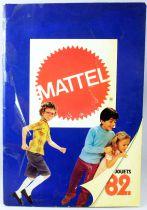 Retailer catalog Mattel France 1982