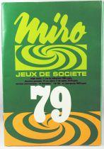 Retailer catalog Miro France 1979