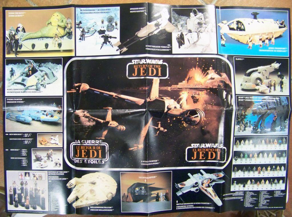 Retour du Jedi Trilogo 1983 - Kenner - Catalogue-Poster 02