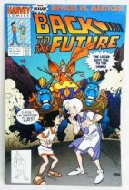 Retour vers le Futur - Harvey Comics - Back to the Future #3 Bifficus vs. Marticus!