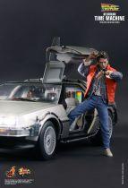 Retour vers le Futur - Hot Toys MMS260 - Delorean Time Machine (Part.1) 1/6ème (neuve en boite)