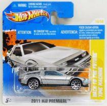 Retour vers le Futur Part.I - Hot Wheels - Mattel - Delorean Time Machine