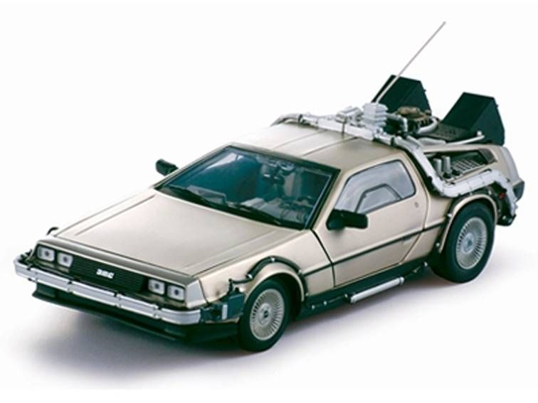Retour vers le Futur Part.I - Sun Star - Delorean Time Machine