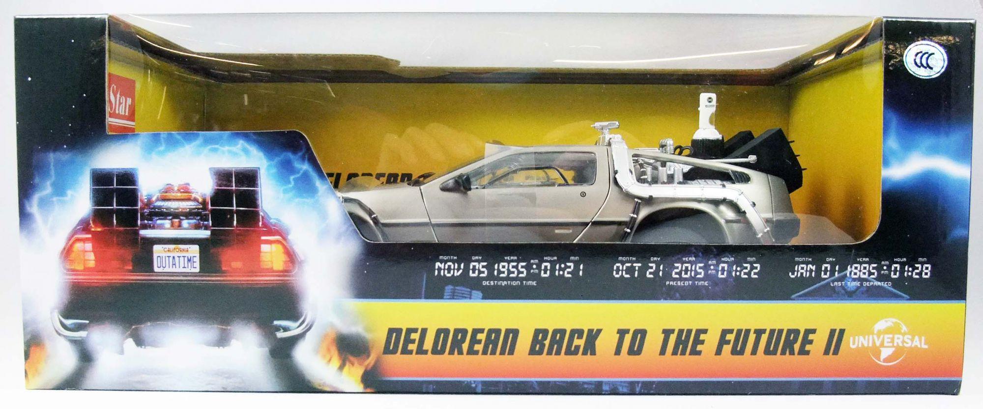 Retour vers le Futur Part.II - Sun Star - Delorean Time Machine