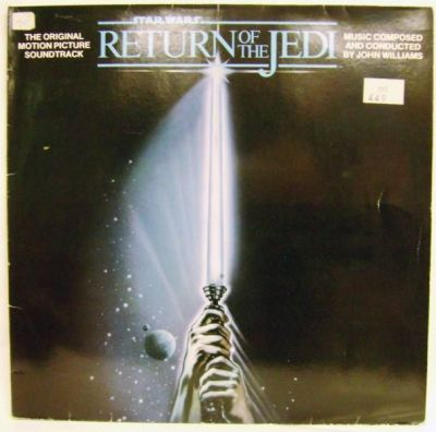 Return Of The Jedi Original Soundtrack Record Lp Rso