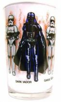 Return of the Jedi 1983 - Amora mustard glass - Darth Vader & Imperial Stormtrooper