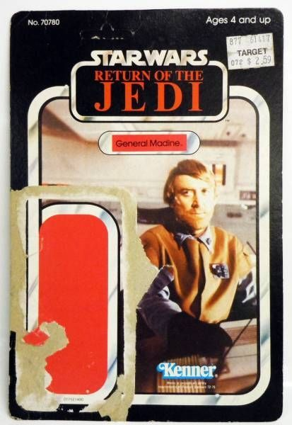 Return of the Jedi 1983 - Kenner - General Madine