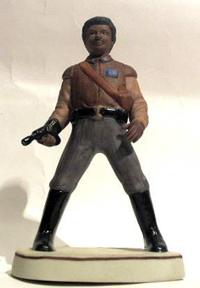 Return of the Jedi 1983 - Lando Calrissian - Sigma Bisque Porcelain Figurine - 1983