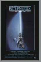 "Return of the Jedi 1983 - Movie Poster Style A 24""x36\"" (Portal Publications Ltd PTW533 1992)"