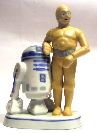 Return of the Jedi 1983 - R2-D2 & C-3PO - Sigma Bisque Porcelain Figurine - 1983
