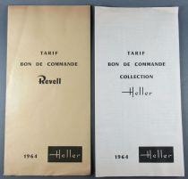 Revell Model Kits1964 Tariff & Order Form