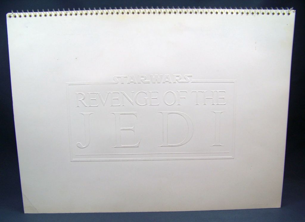 Revenge of the Jedi (1982) - Lucasfilm & 20th Century Fox - Merchandising Press Kit (Dossier Promotionnel) 01