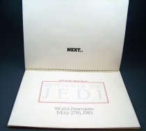 Revenge of the Jedi (1982) - Lucasfilm & 20th Century Fox - Merchandising Press Kit (Dossier Promotionnel) 03