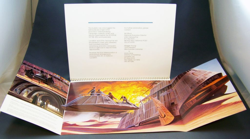 Revenge of the Jedi (1982) - Lucasfilm & 20th Century Fox - Merchandising Press Kit (Dossier Promotionnel) 09