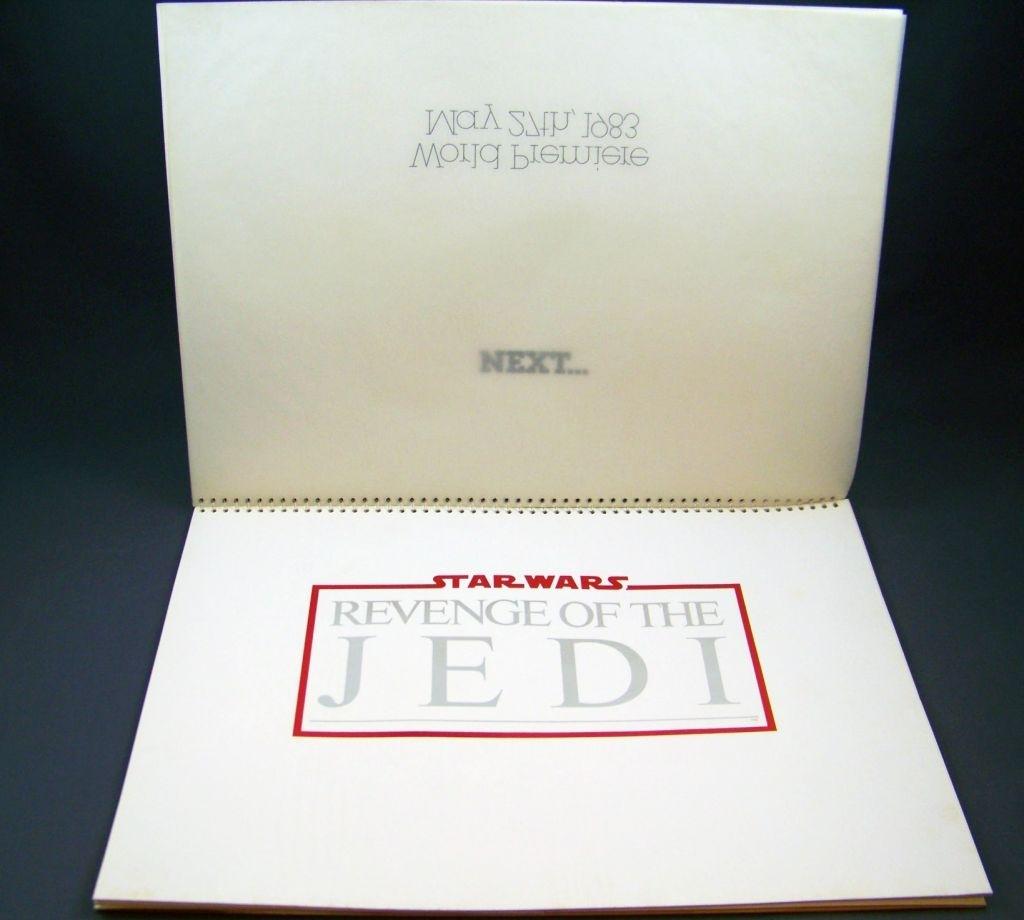 Revenge of the Jedi (1982) - Lucasfilm & 20th Century Fox - Merchandising Press Kit (Dossier Promotionnel) 04