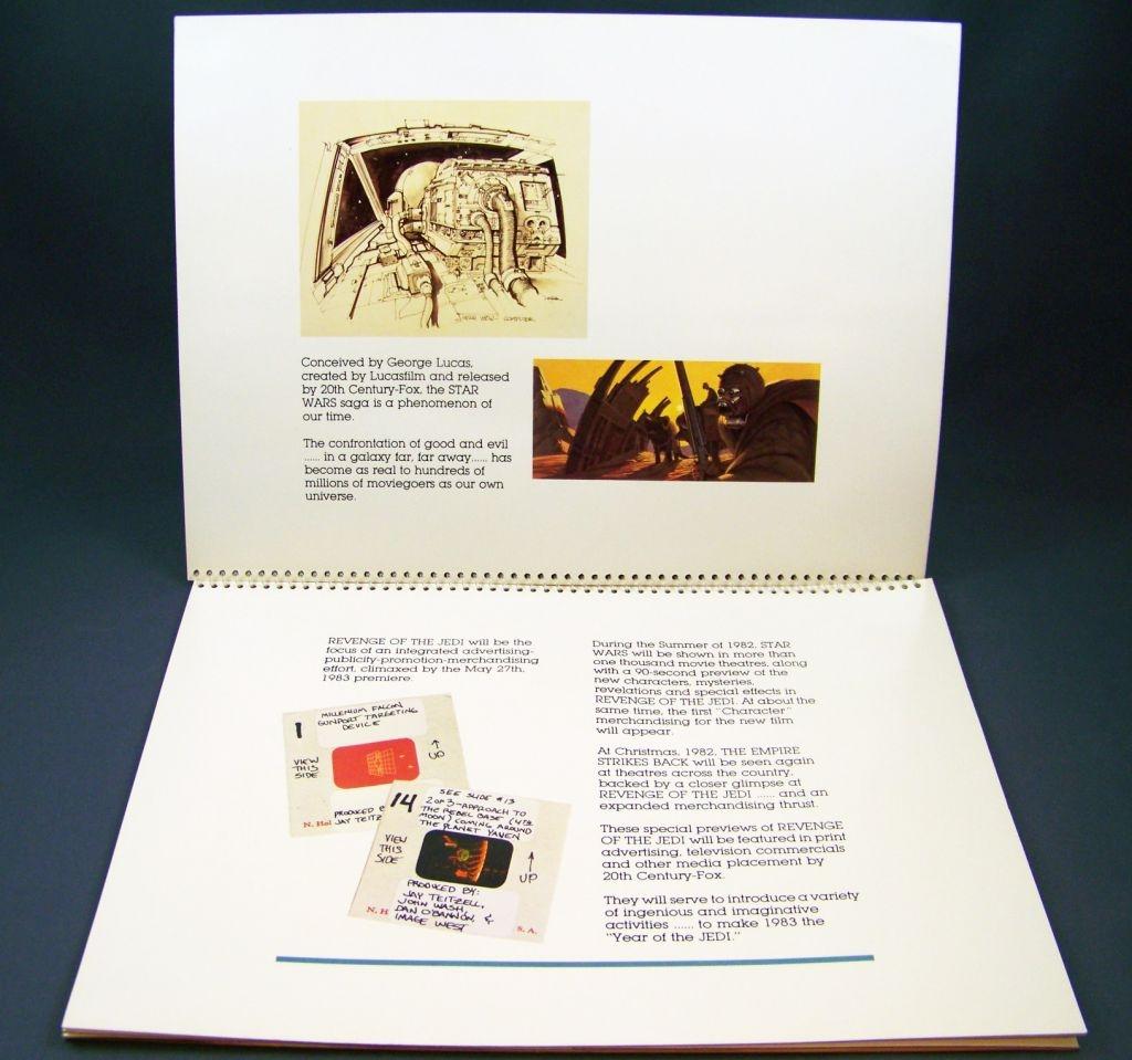 Revenge of the Jedi (1982) - Lucasfilm & 20th Century Fox - Merchandising Press Kit (Dossier Promotionnel) 05